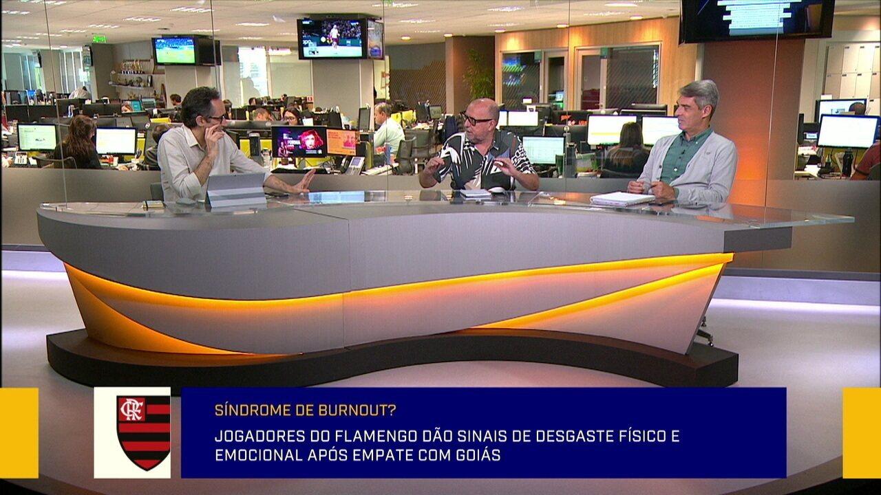 Mesa analisa empate entre Goiás e Flamengo