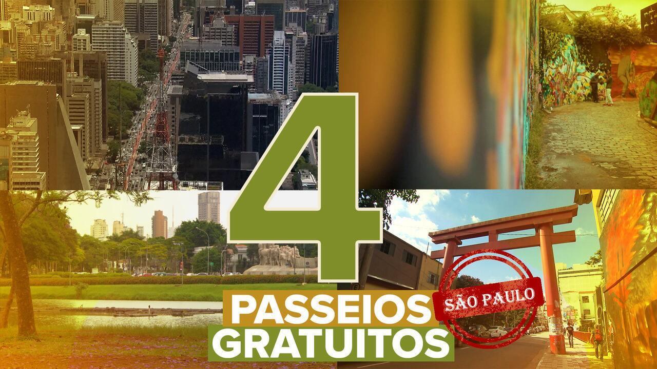 Veja quatro dicas de passeios gratuitos em São Paulo