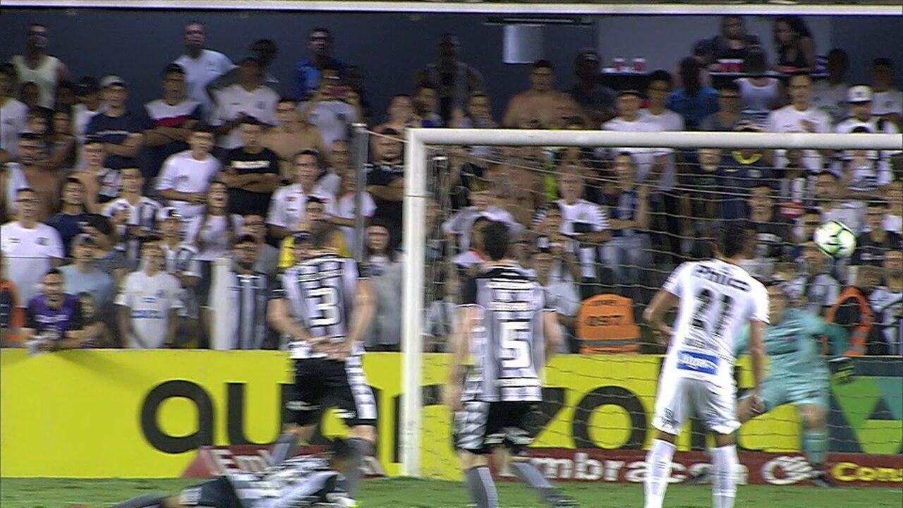 Melhores momentos: Santos 4 x 1 Botafogo pela 30ª rodada do Brasileirão