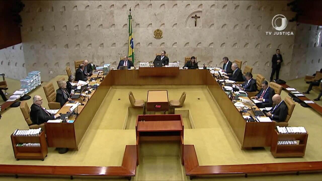 STF deve retomar julgamento sobre prisão em segunda instância na quinta (7)