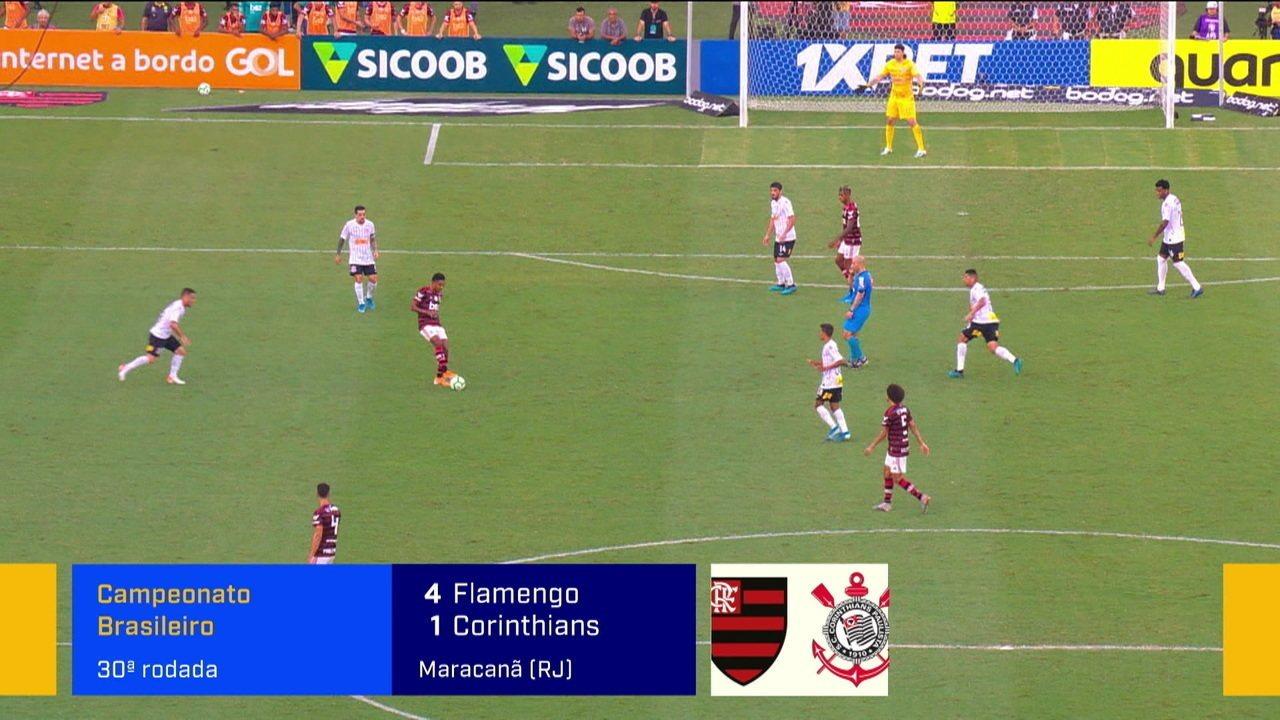 Comentaristas analisam Flamengo x Corinthians e apontam a superioridade rubro-negra