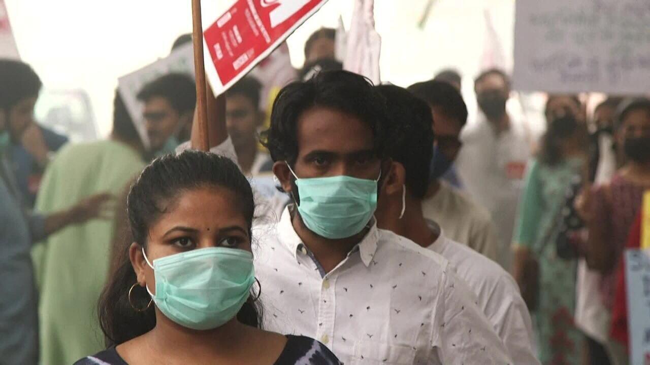 Chacra: Poluição atinge índice alarmante em Nova Délhi, na Índia