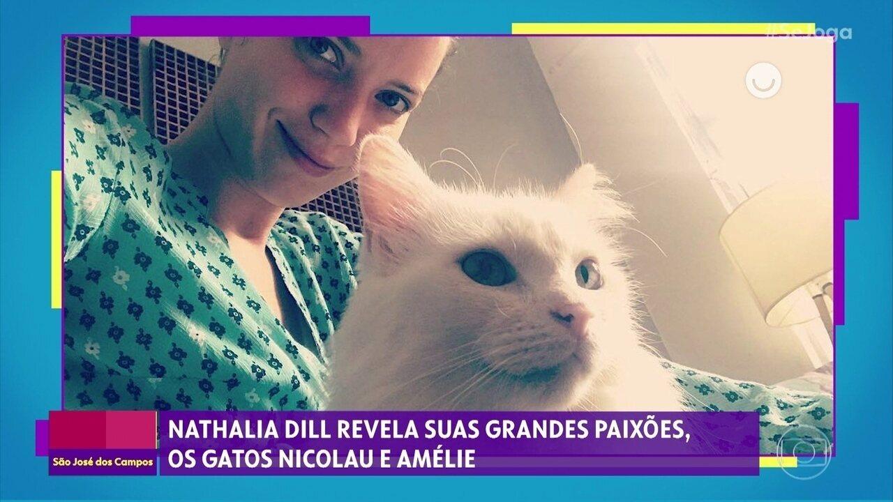 Gshow no 'Se Joga': Nathalia Dill fala sobre sua relação com seus gatos