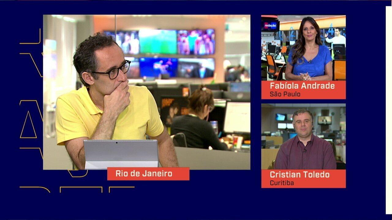 Mesa do Redação SporTV comenta saída de Tiago Nunes do Athletico-PR e negociação com o Corinthians