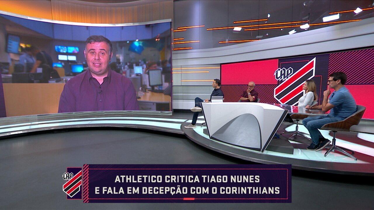 Seleção SporTV fala sobre a saída de Tiago Nunes do Athletico-PR