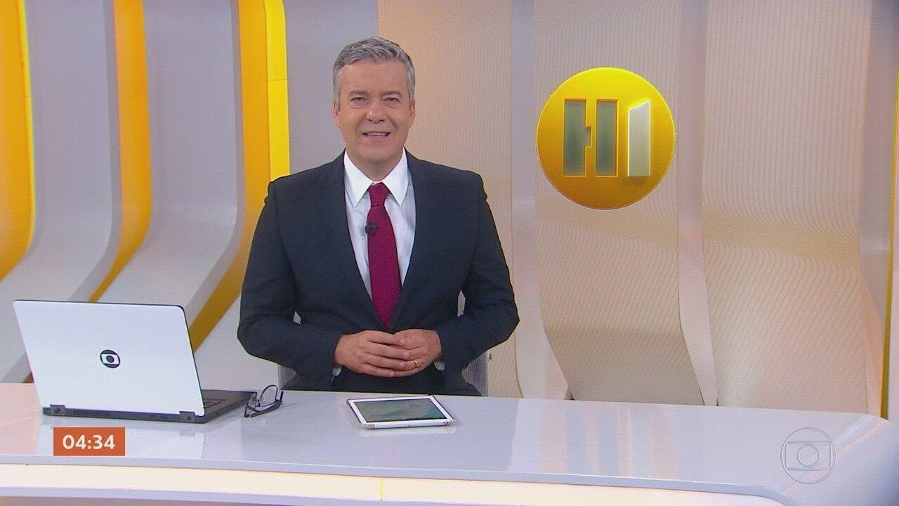 Hora 1 - Edição de quinta-feira, 07/11/2019 - Os assuntos mais importantes do Brasil e do mundo, com apresentação de Roberto Kovalick.