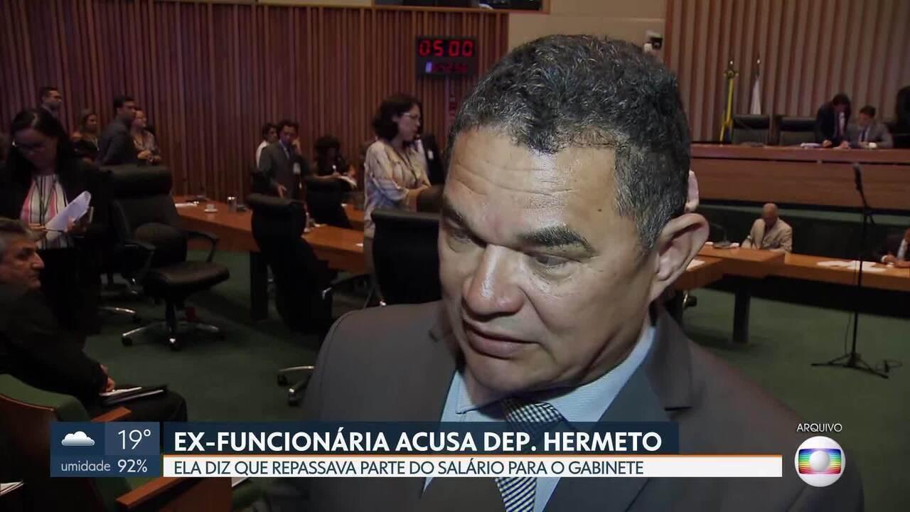 Ex-funcionário do distrital Hermeto (MDB) acusa de improbidade administrativa