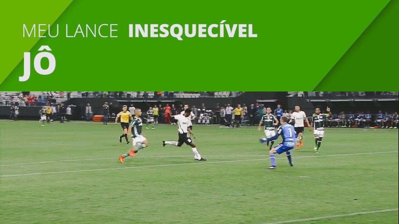 Meu lance inesquecível: Jô fala de gol decisivo pelo Corinthians contra o Palmeiras