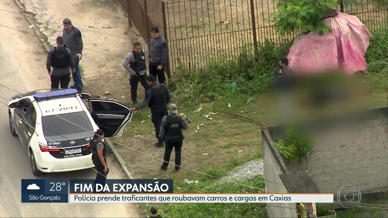 Operação contra o tráfico tem dois mortos em confronto e 23 presos em Duque de Caxias