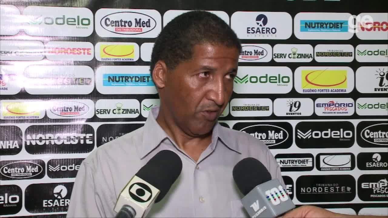Depois revés na Copa Nordeste sub-20, técnico do River-PI projeta time para a Copinha