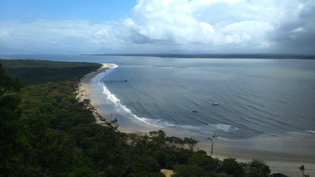 Veja vídeo: Ilha do Mel encerra circuito de corrida trail com prova rápida e clima bipolar