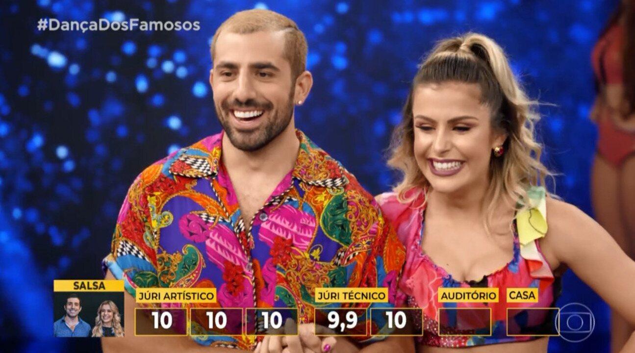 Confira as notas do primeiro grupo da semifinal no 'Dança dos Famosos'