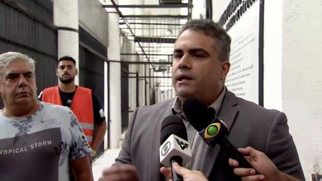 Veja a entrevista completa do vice-presidente do Santos, Orlando Rollo
