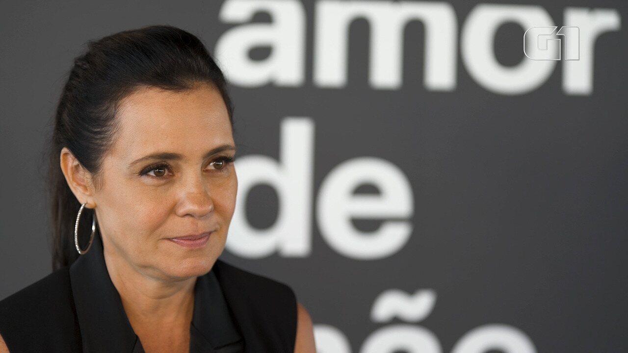 Adriana Esteves fala ao G1 sobre maternidade, 'Amor de Mãe' e 'Avenida Brasil'