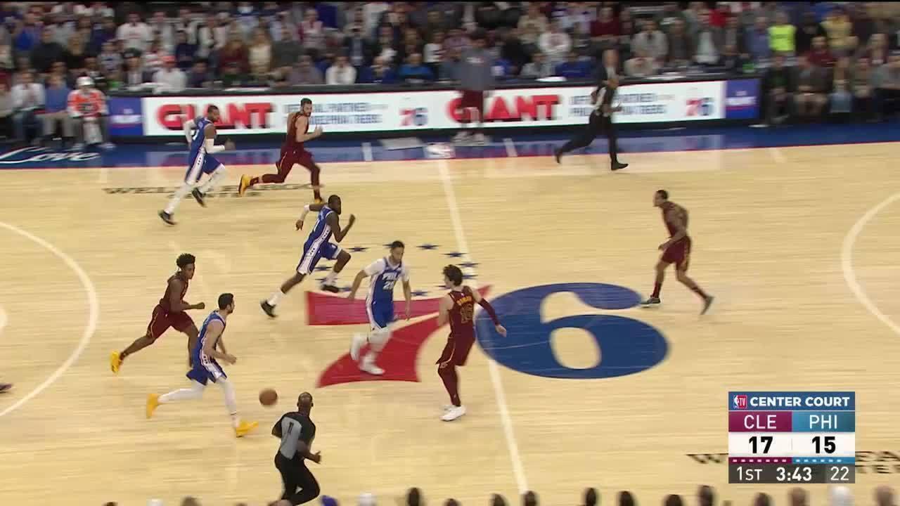 Melhores momentos: Philadelphia 76ers 98 x 97 Cleveland Cavaliers, pela NBA