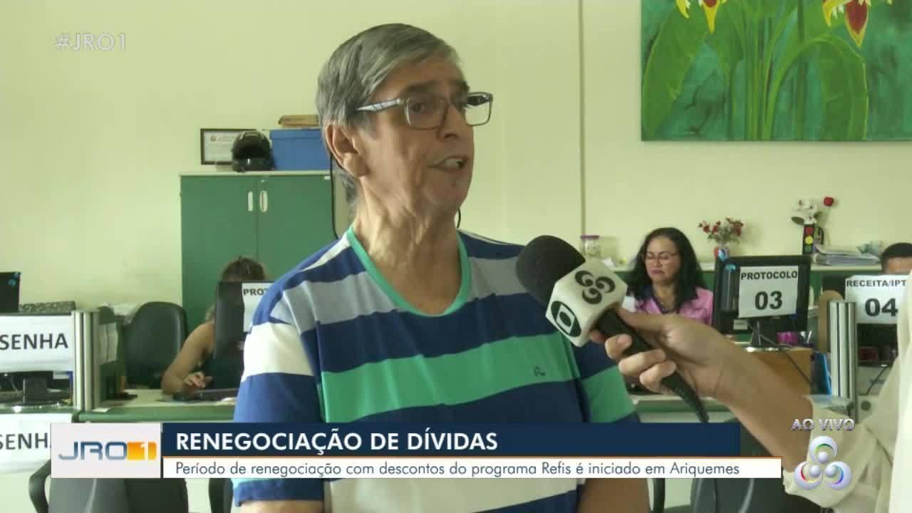 Refis em Rondônia