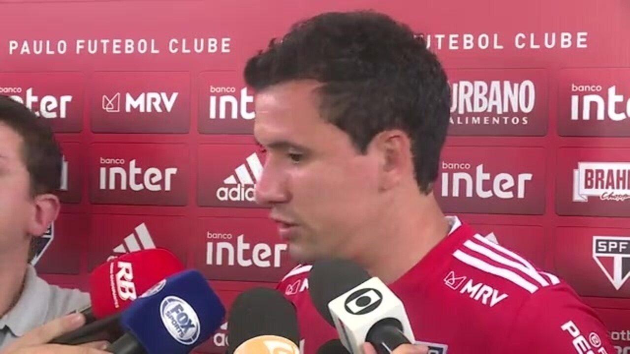 """""""Vamos dar a vida para colocar o São Paulo na Libertadores"""", diz Pablo"""