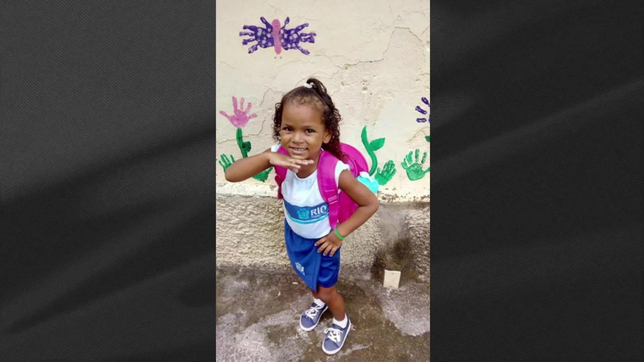 A five-year-old girl died in a shooting in the western area of ​​Rio