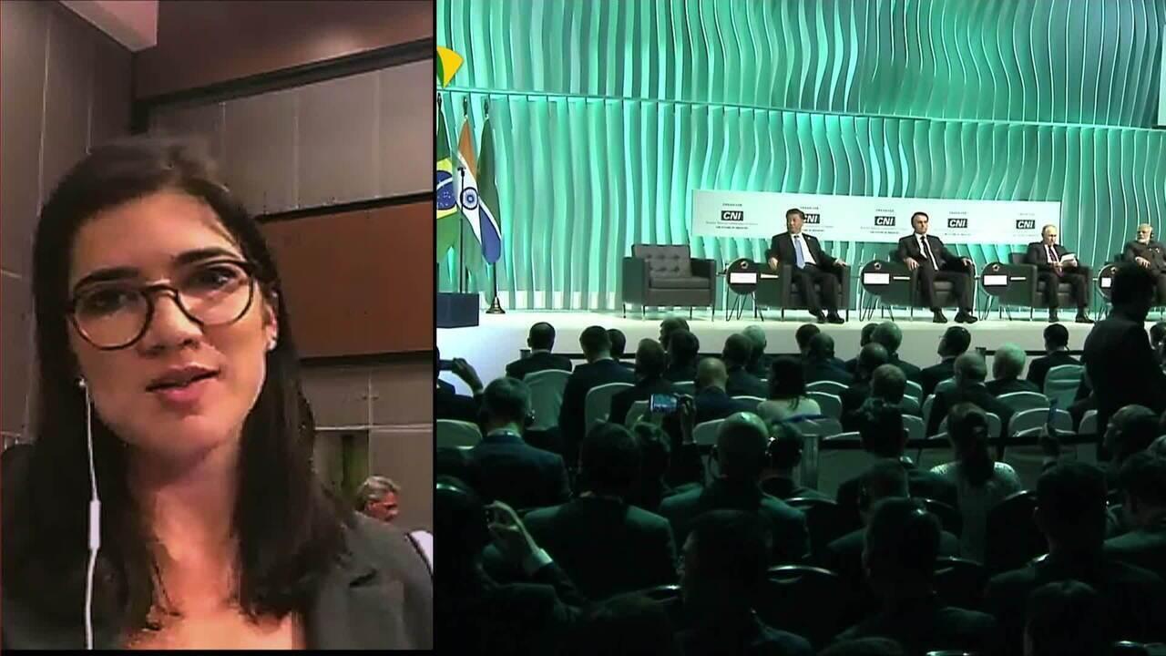 Saiba o que cada líder do Brics falou no discurso em Brasília