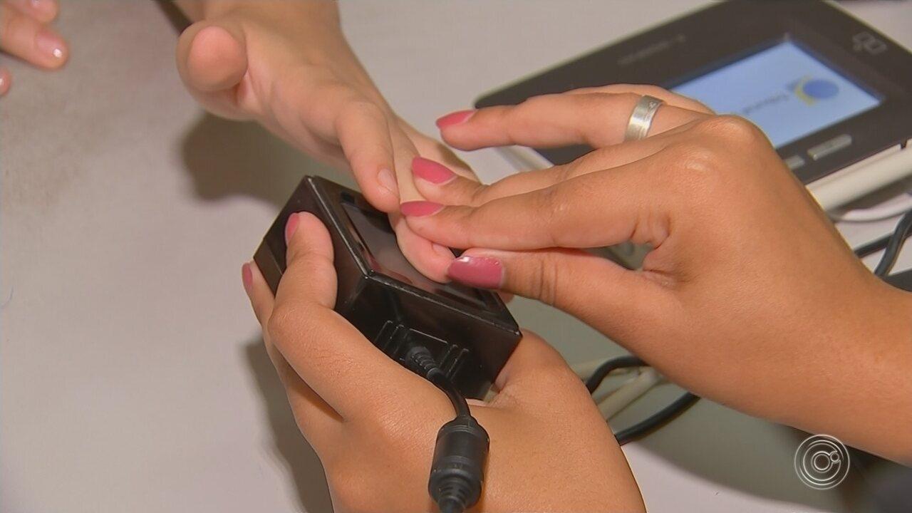 Mais de 160 mil eleitores ainda precisam cadastrar a biometria na região de Sorocaba