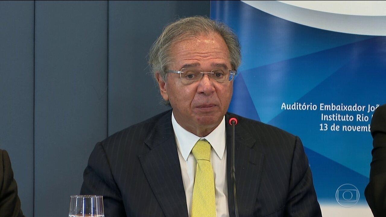 Conversa para área de livre comércio com a China avança, diz Paulo Guedes