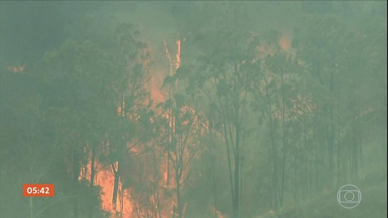 Número de mortos em incêndios florestais na Austrália sobe para quatro