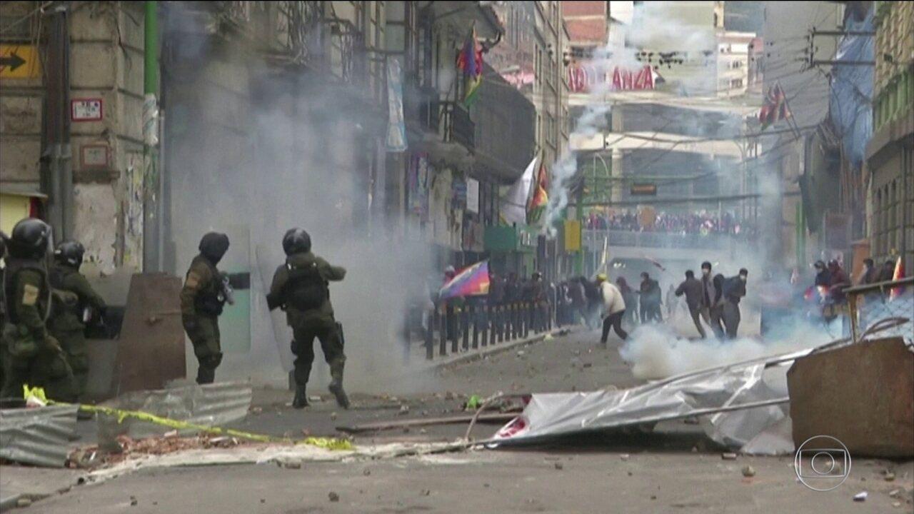 Presidente interina da Bolívia dá posse a novo Ministério