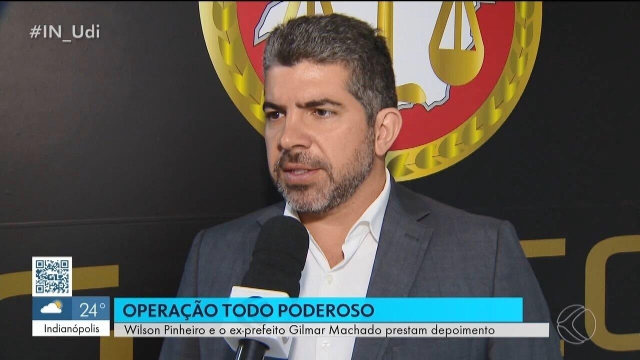 Promotor fala sobre depoimento prestado por Wilson Pinheiro e Gilmar Machado