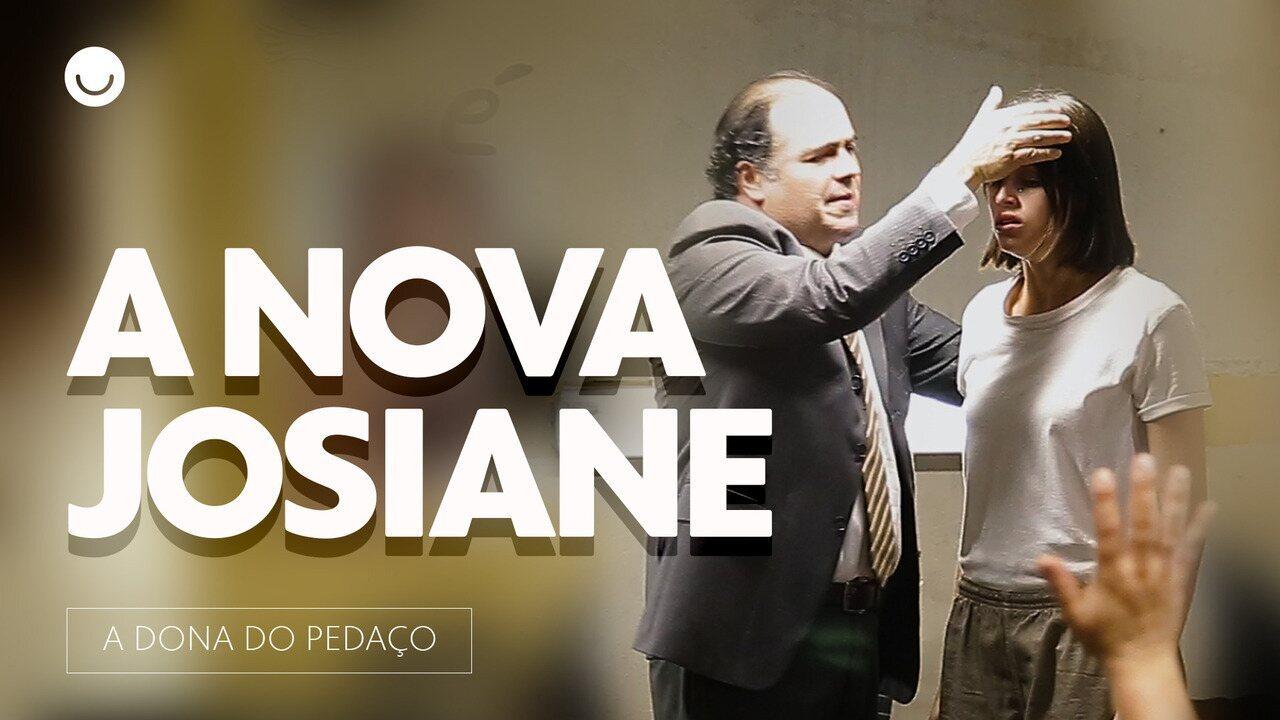 Ana Furtado, Agatha Moreira e Reynaldo Gianecchini gravam cenas na prisão