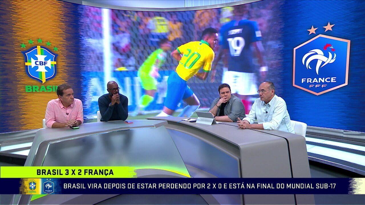 Mesa do Troca de Passes comenta virada do Brasil sobre a França no Mundial Sub-17