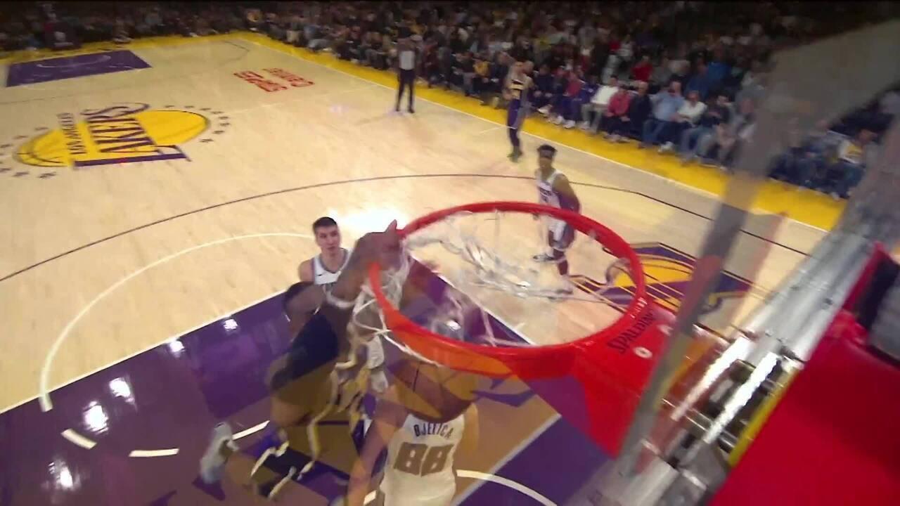Melhores momentos: Los Angeles Lakers 99 X 97 Sacramento Kings, pela NBA
