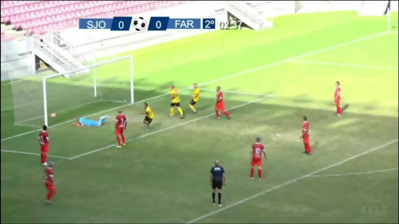 Gol do Farinas
