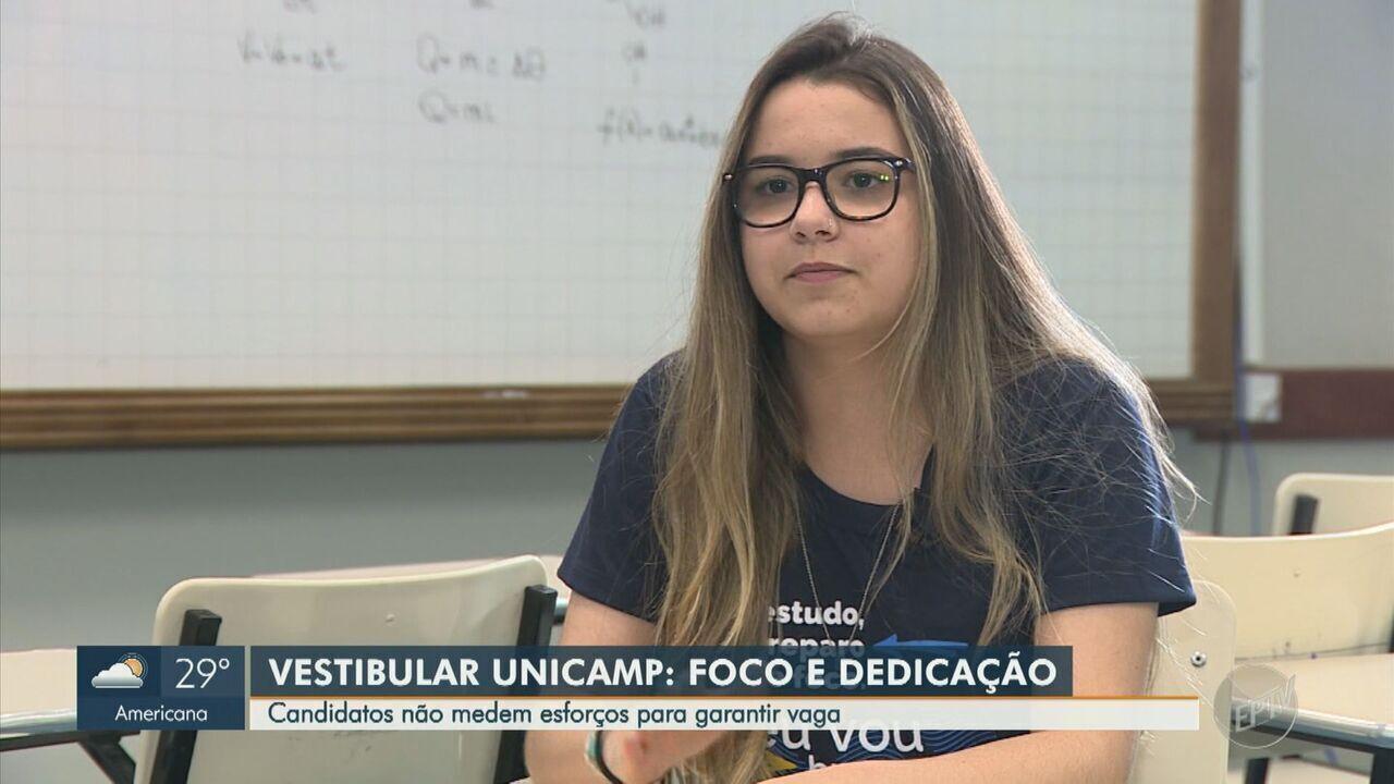 Estudantes mudam de cidade para se dedicar aos estudos em busca de vaga na Unicamp