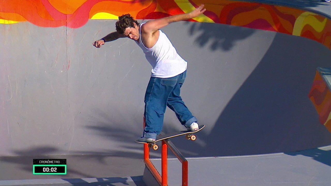 Pedro Barros garante vaga na final do Skate Park