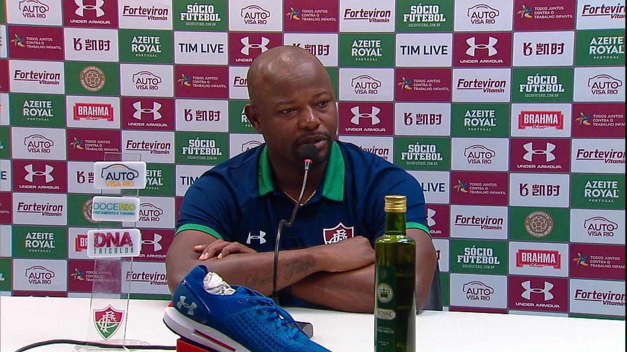 Confira a entrevista coletiva do treinador