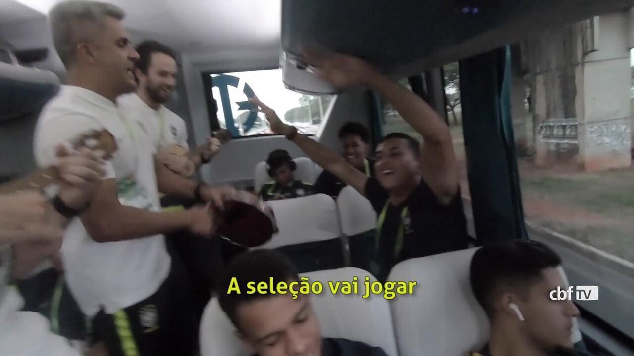 Confira a música que embalou a campanha da seleção brasileira sub-17 no Mundial