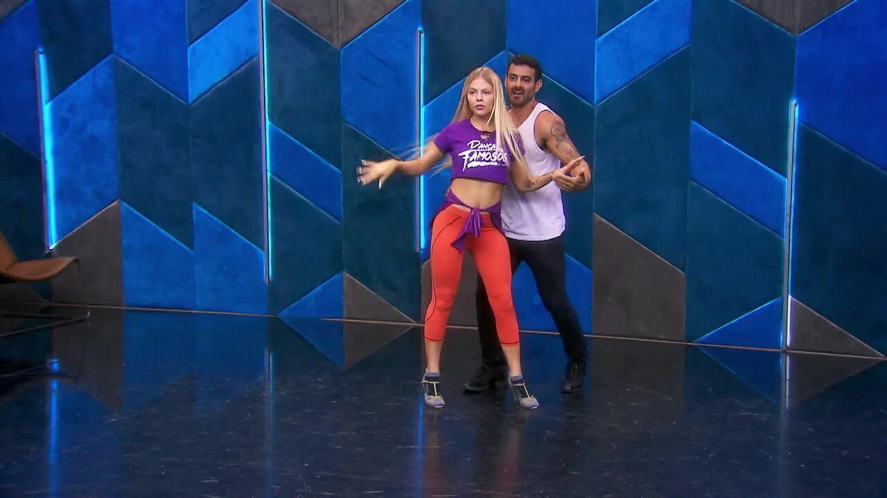 Veja os ensaios de Luísa Sonza para a salsa no 'Dança dos Famosos'