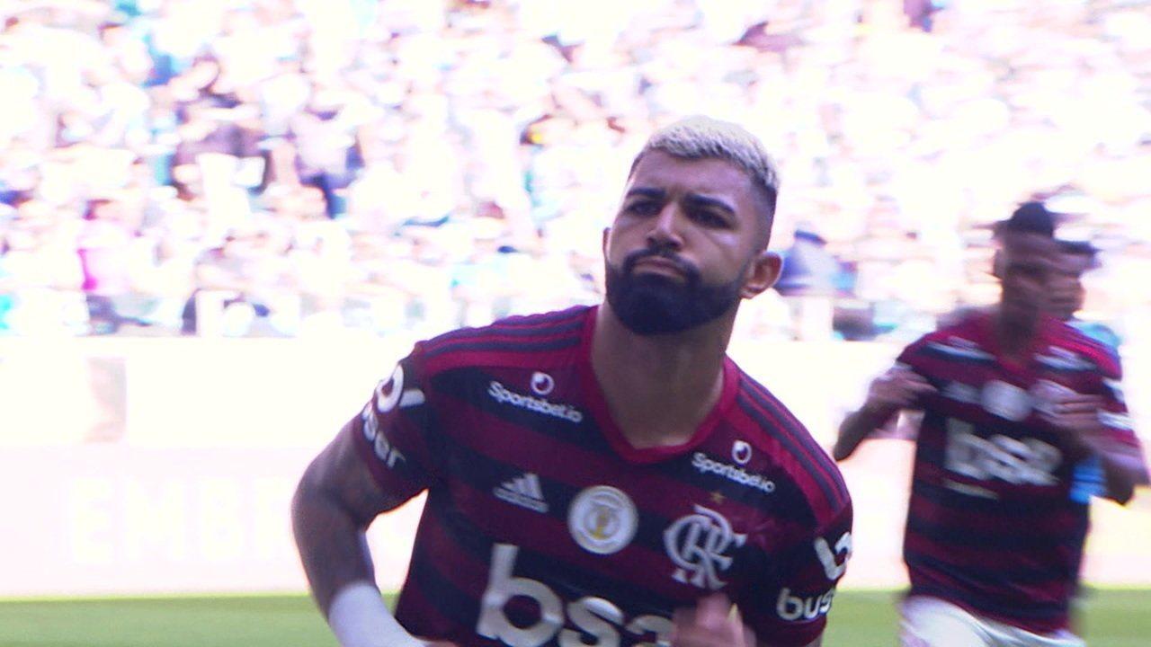 Gramio goal 0 x 1 Flamengo for the 33rd round of Brasiliro 2019