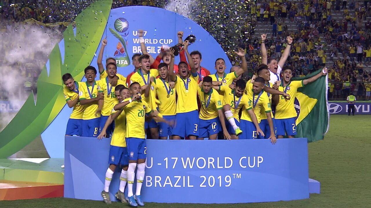 Brasil é tetracampeão mundial Sub-17,! Veja a premiação