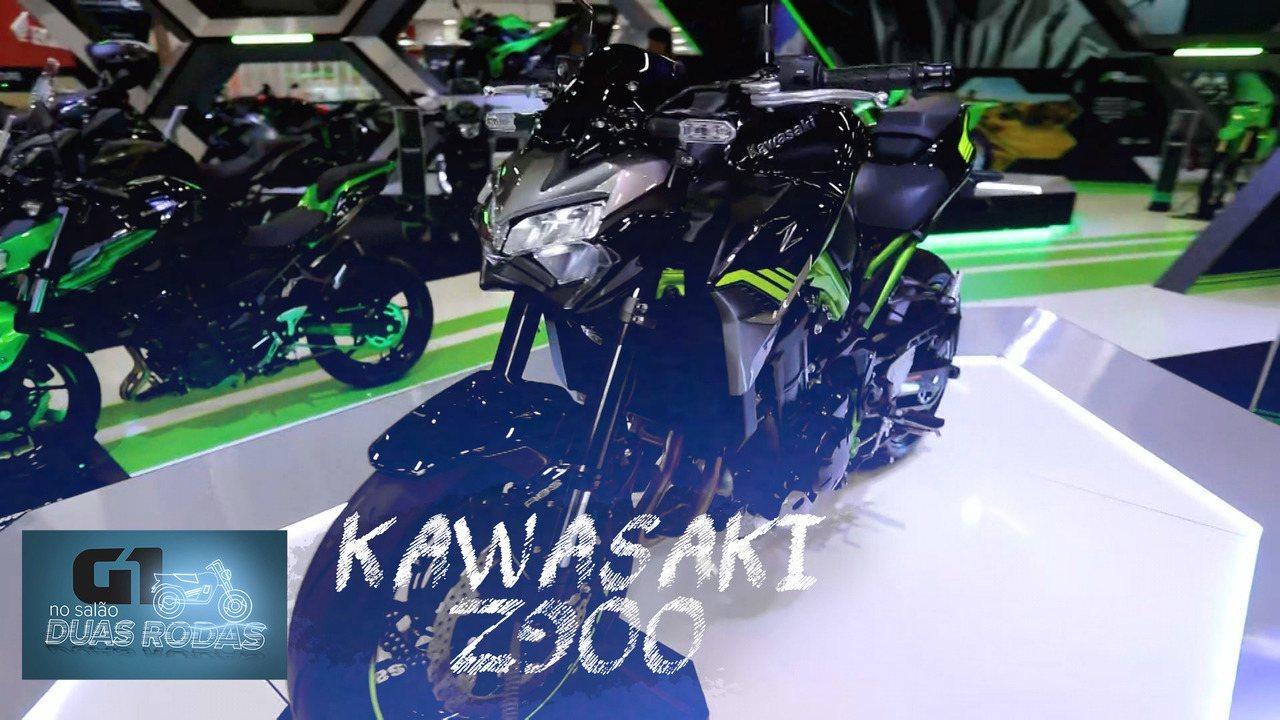 Salão Duas Rodas 2019: Kawasaki Z900