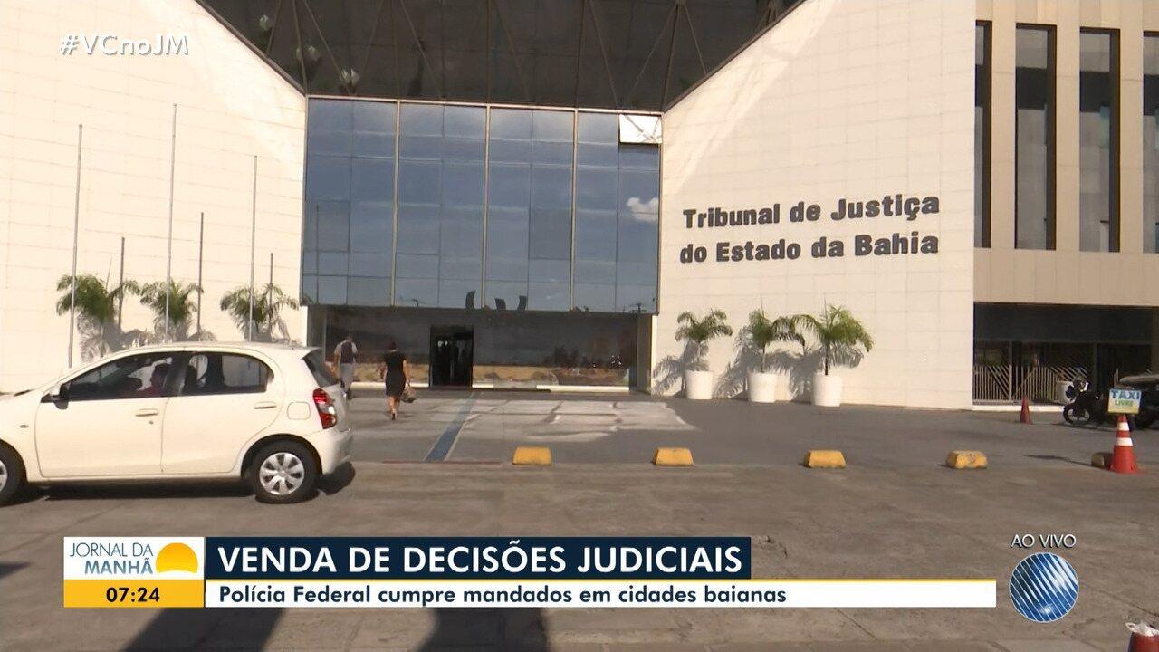Polícia Federal deflagra operação e cumpre mandatos nas cidades da Bahia