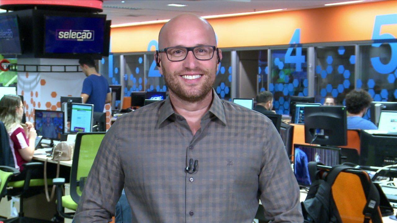 Diretor executivo do Bragantino, Thiago Scuro participa ao vivo do Seleção SporTV