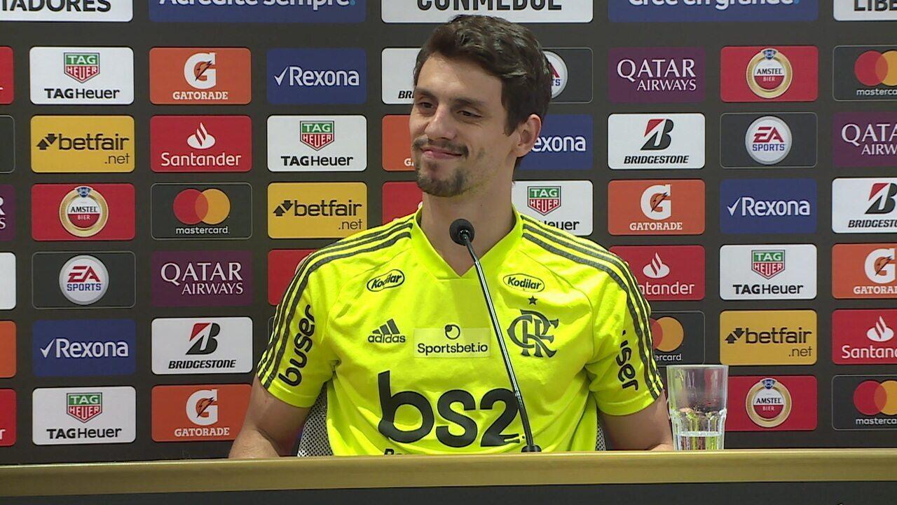 Veja a entrevista completa de Rodrigo Caio nesta terça-feira
