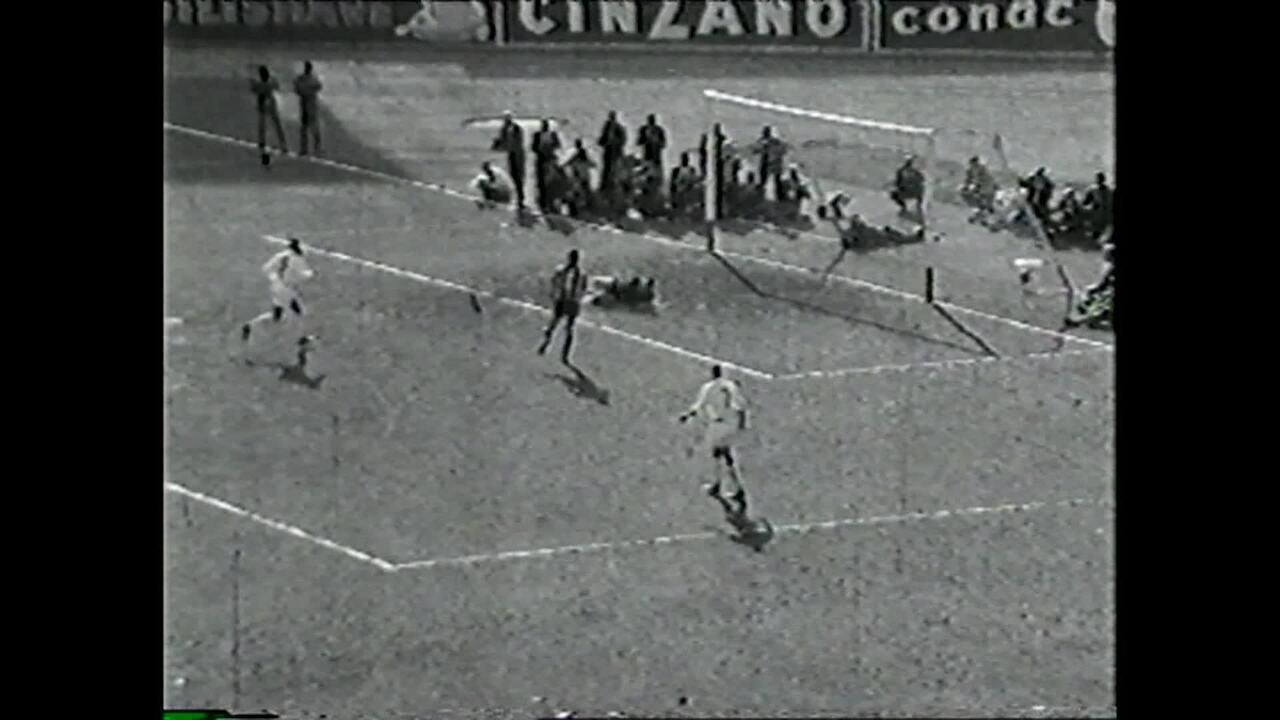 Santos x Penarol 1962