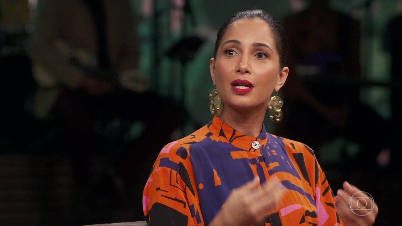 Camila Pitanga fala do racismo e diz que seu pai é um combatente que dança