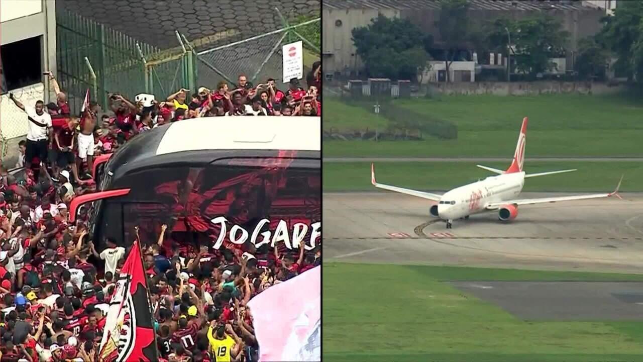 Flamengo embarca para o Peru para a Final da Libertadores