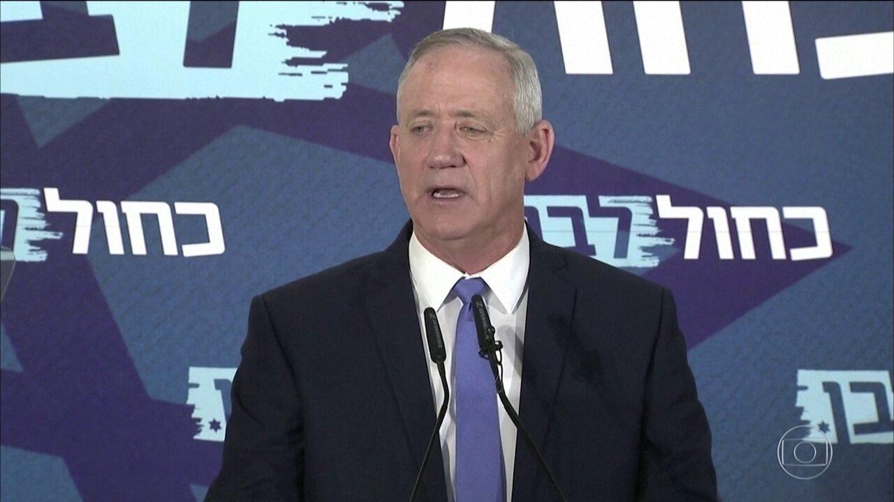 Benny Gantz não consegue formar novo governo em Israel