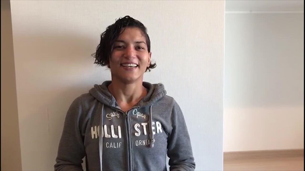Sarah Menezes, do judô, diz que está na torcida pelo Flamengo na final da Libertadores
