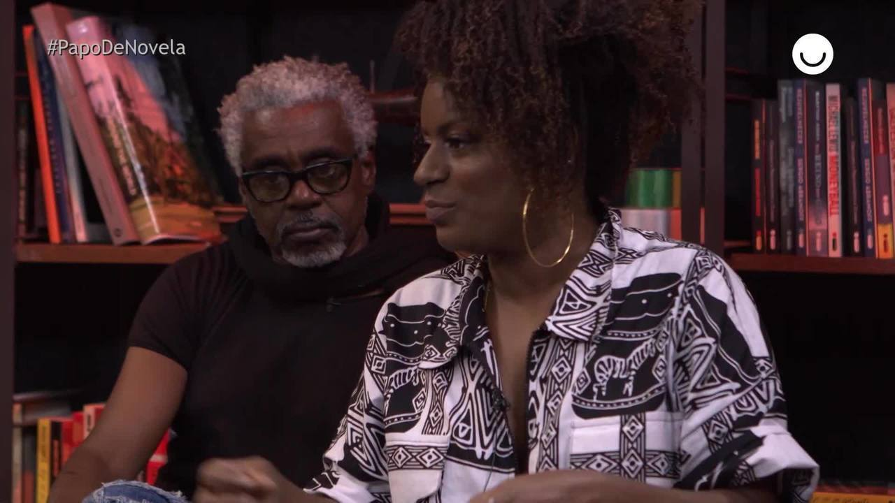 Shirley Cruz fala sobre suas referências negras no Papo de Novela especial 20/11