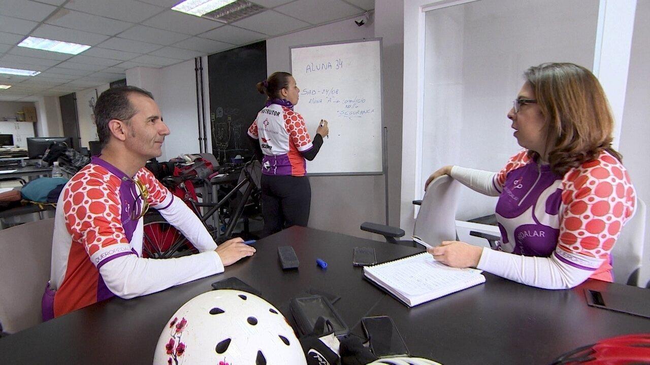 Startup ajuda pessoas a perder o medo de andar de bicicleta